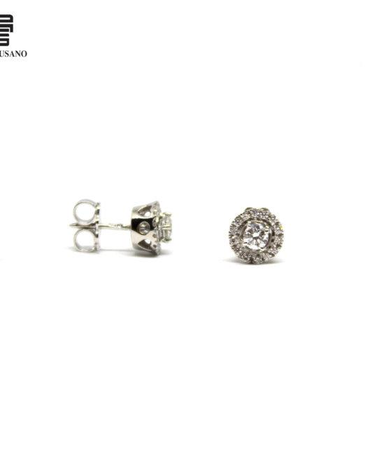 orecchini tondi diamante 2
